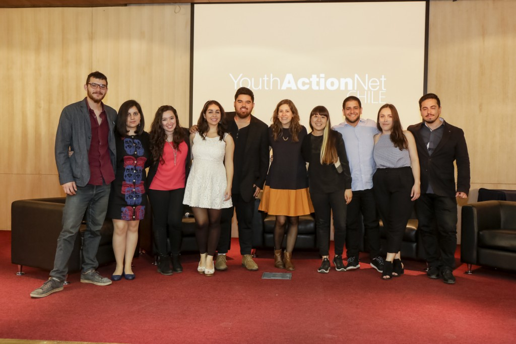 Premios Youth Action Net, YAN, Chile, Campus Bellavista.  2017.